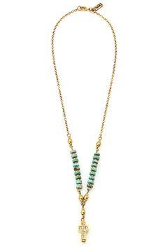 Vanessa Mooney Bright Side of the Road Gold Necklace   Vanessa Mooney Jewelry