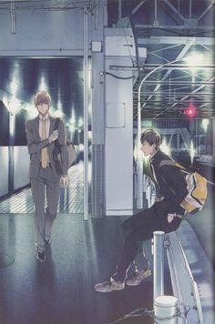 [Takarai Rihito] Ten Count - Kurose x Shirotani Manhwa, Manga Boy, Manga Anime, 10 Count Manga, Anime Love, Anime Guys, Ten Count, Takarai Rihito, Otaku