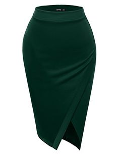 casual skirts TWINTH Pencil Skirts Plus Size Casual Skirt Elastic Waist Band Scuba Streychy Solid Color African Fashion Skirts, Fashion Dresses, Plus Size Skirts, Plus Size Outfits, Plus Size Casual, Casual Skirts, Long Skirts, Classy Dress, Skirt Outfits