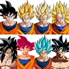 All Goku transformations #ssj #ssj2 #ssj3 #ssj4 #ssjg #ssg #ssjb #ssb #supersaiyan #supersaiyan2 #supersaiyan3 #supersaiyan4 #supersaiyangod #supersaiyanblue #goku