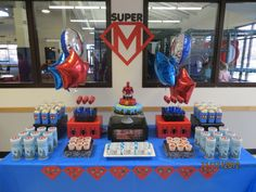 Superhero Birthday Party #superhero #party