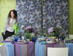 Tricia Guild: How to decorate your Christmas table as seen in this months UK Homes & Gardens magazine