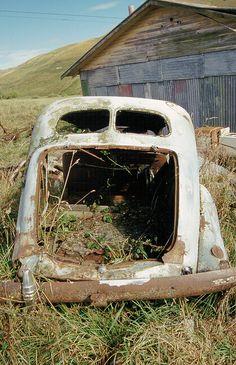 Abandoned Car by Jonathan!, via Flickr