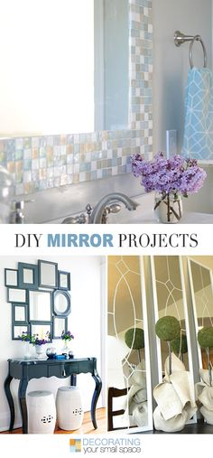 DIY Mirror Projects • Ideas & tutorials!