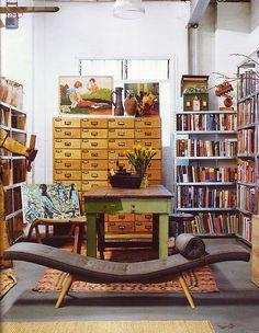 my dream home library :) Home Interior, Interior And Exterior, Interior Design, Home Decoracion, Home Libraries, Home And Deco, Reading Nook, My Dream Home, Nooks