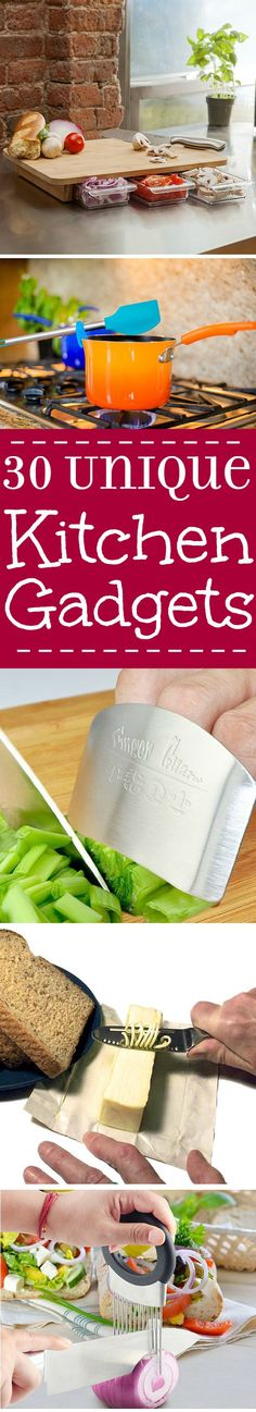 Amazing and unique kitchen gadgets that you need right now! These will make your whole life easier and turn your kitchen upside down. Everyone needs these!   kitchen tips   cooking tips