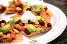Clean Eating Nachos - Need these for girls weekend!