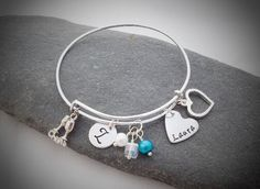 Trendy bangle, can be changed to suit theme