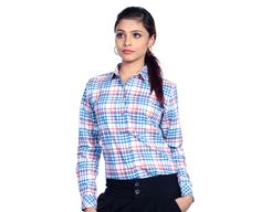 The Kickback - #Multicolor #Shirt for #Women in #Mumbai available at www.crisp.clothing