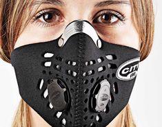 Deporte pese a la polución | Zen sección | EL MUNDO #RESPRO Luna Fashion, Create A Face, Breathing Mask, Custom Chevy Trucks, Mask Girl, Nose Mask, Skull Mask, Half Face Mask, Tactical Clothing