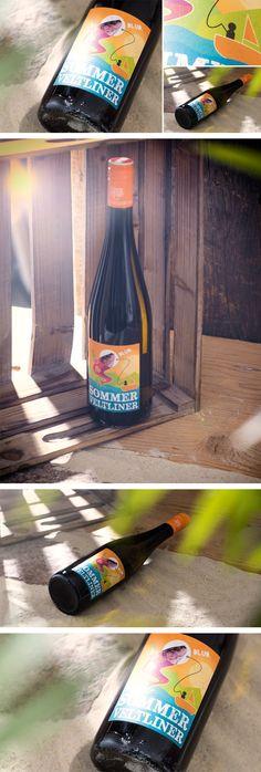 WEINGUT FRANZ ANTON MAYER // Sommer Veltliner Packaging: By www.strobl-kriegner.com