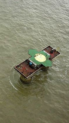 The converted World War II Maunsell Fort has survived economic and military challenges.