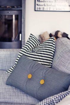Via Le Butik Sofie | Grey | Hay and Ikea PS Pillow