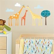Brand New Wall Decals from Skip Hop - Giraffe Safari