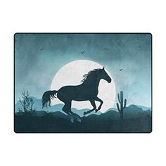 Senya Doormat Outdoor Mats Entrance Waterproof Rugs Moonlight Horse Non Slip Front Door Carpet for House Hotel Patio Garage -- Check out the image by visiting the link. (This is an affiliate link) Entrance Mats, Outdoor Mats, Slip And Fall, Doormat, Moonlight, Moose Art, Garage, Carpet, Patio