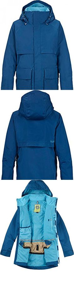 Burton Mirage Snowboard Jacket Womens Sz S. DRYRIDE DurashellTM 2-Layer Printed Polyester Plain Weave Fabric [10,000MM, 10,000G] [Watercolor / Holbrook Colorway]. bluesign« Approved DRYRIDE Durashell 2-Layer Fine Twill Fabric [10,000MM, 10,000G] [Dusk / Ultra Blue and Grapeseed / Burner Colorways]. DRYRIDE Durashell 2-Layer Metallic Plain Weave Fabric [10,000MM, 10,000G] [Sandstruck Metallic / Tropic Colorway]. Mapped with THERMOLITE« Insulation [40G Body / Sleeves] with