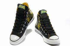 Converse All Star Hi Dc Comics Shoes Yellow Black Mul Superman