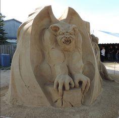 FC Glad og Frisk 1051  Sand Sculpture Hundested 2015