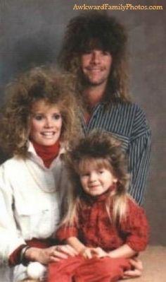 Loving the 80's family portraits