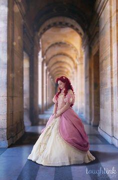 Disney Princess Cosplay, Disney Princess Dresses, Disney Cosplay, Disney Dresses, Disney Halloween Costumes, Halloween Cosplay, Cosplay Costumes, Cosplay Ideas, Little Mermaid Cosplay