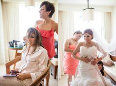 the bride getting ready - Filda Konec Photography - Casa Marina Wedding