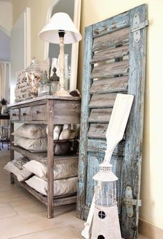 Rustic Beach Themed Bathroom Outer Banks Home Decor On Pinterest Beach