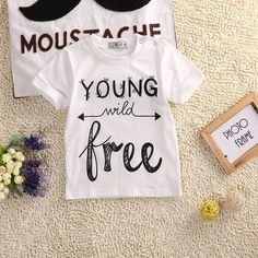 Young wild free Casual T-shirt