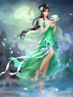 Chu Yuyan from the xianxia story I Shall Seal the Heavens by Chinese web novelist Er Gen. English translation available at wuxiaworld.com