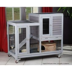 cute indoor rabbit cage on wheels                                                                                                                                                     More