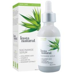 InstaNatural Niacinamide Face Serum 2 OZ - Vitamin Anti Aging Moisturizer for Skin - Diminishes Appearance of Acne Breakouts Wrinkles Fine Lines Dark Spots Age Spots & Hyperpigmentation Face Scrub Homemade, Homemade Skin Care, Homemade Blush, Anti Aging Moisturizer, Anti Aging Skin Care, Vitamin C, Face Mask For Blackheads, Best Skincare Products, Beauty Products