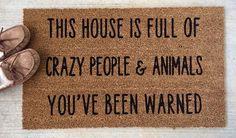 funny doormats / funny doormats + funny doormats hilarious + funny doormats welcome mats + funny doormats humor + funny doormats go away + funny doormats dogs + funny doormats kids + funny doormats hilarious front doors Funny Door Signs, Diy Signs, Front Door Mats, Front Doors, Diy Door Mats, Outdoor Paint, Outdoor Mats, Outdoor Decor, Funny Doormats