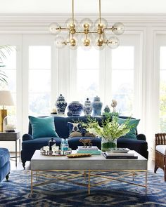 One of our most eye-catching chandeliers features 16 oversized globe bulbs! The Rowan is so versatile — put it in the living room, dining room, entryway) — you'll want to bookmark it!