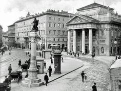 Piazza della Borsa primi '900