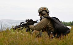 """July 2013: exercise """"COLIBRI"""" - German airborne brigade 26 trains with soldiers from France, Austria and the Netherlands."""