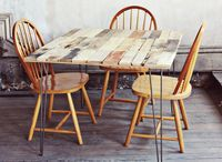 Wood Pallet Table DIY - A Beautiful Mess