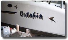 Multihull Boat Names - Outahia - by Boat Names Australia