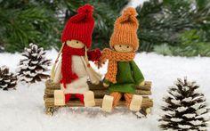 merry christmas, ornaments,  christmas tree, dolls, decoration, new year, toys фото