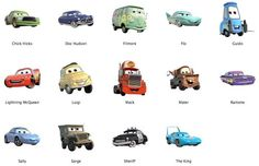 Cars (The Movie)