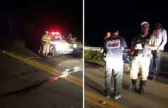 #News  Motociclista morre após colidir contra guardrail no município de Poté, no Vale do Mucuri