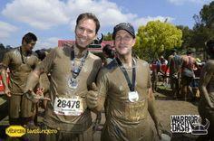 Matt and Jimmy at the Warrior Dash