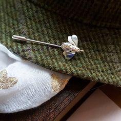 Bee Pin, Bee Brooch, Bee Scarf Pin, Bee Lapel Pin