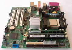 Intel AA C927553 Motherboard CPU Memory P4 2.8GHz 1GB DDR Dell Dimension 3000