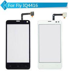 Noir Blanc Pour Fly IQ4416 Écran Tactile Digitizer