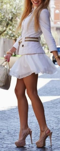 Beautiful Examples of girls in short skirts (34)