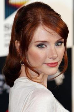 Bryce Dallas Howard and Red Hair Photograph