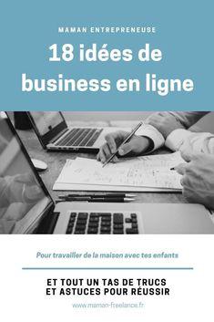 18 idées de business en ligne pour maman entrepreneuse - Maman-Freelance