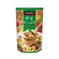 GooTaブランドの、8種類の野菜がたっぷり入ったグラノーラ