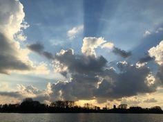 Sunset Rotterdam, Kralingse plas   #rotterdam #sunset