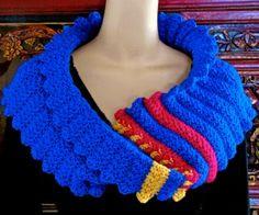Starlooper Star Stitch Mobius Cowl #Crochet Pattern for sale from @vashtibraha
