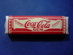 "SUPER RARE VINTAGE ""COCA-COLA"" CHEWING GUM PACK - FIRST WE'VE SEEN!"